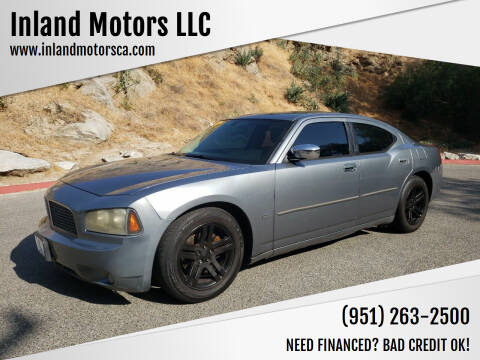 2006 Dodge Charger for sale at Inland Motors LLC in Riverside CA