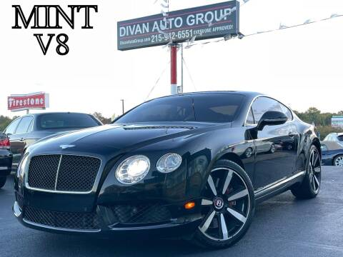 2014 Bentley Continental for sale at Divan Auto Group in Feasterville Trevose PA