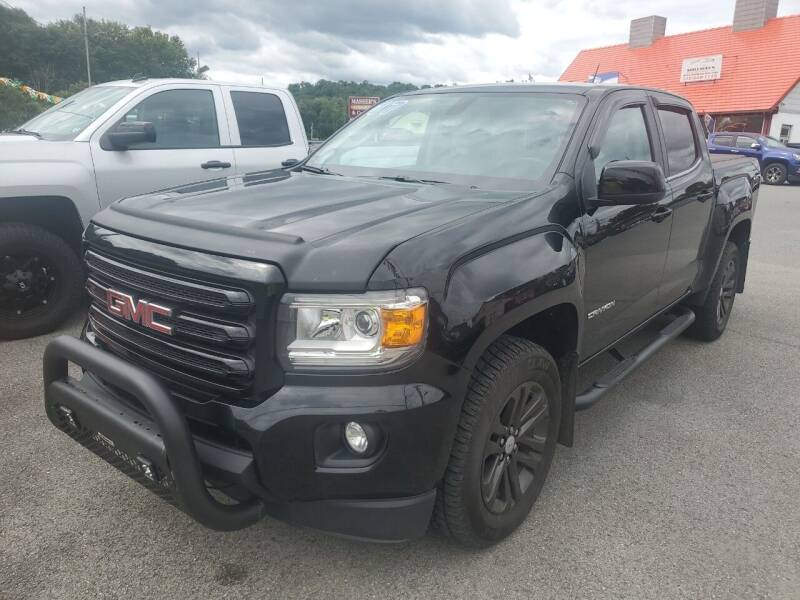 2017 GMC Canyon for sale at Mulligan's Auto Exchange LLC in Paxinos PA