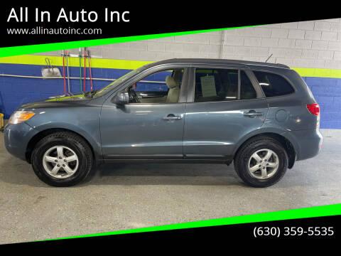 2008 Hyundai Santa Fe for sale at All In Auto Inc in Addison IL