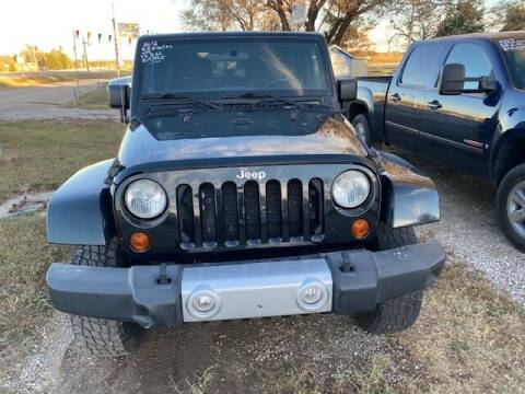 2012 Jeep Wrangler for sale at Car Solutions llc in Augusta KS