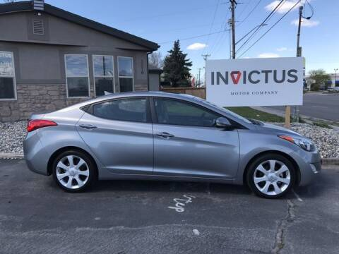 2013 Hyundai Elantra for sale at INVICTUS MOTOR COMPANY in West Valley City UT