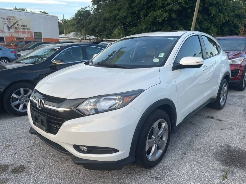 2016 Honda HR-V for sale at P J Auto Trading Inc in Orlando FL