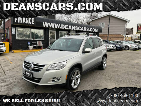 2011 Volkswagen Tiguan for sale at DEANSCARS.COM in Bridgeview IL