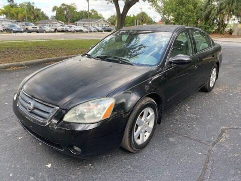 2002 Nissan Altima for sale at Florida Prestige Collection in St Petersburg FL