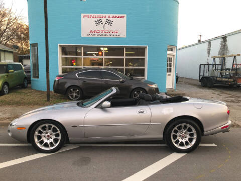 2002 Jaguar XKR for sale at Finish Line Motors in Tulsa OK