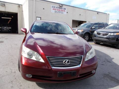 2008 Lexus ES 350 for sale at ACH AutoHaus in Dallas TX