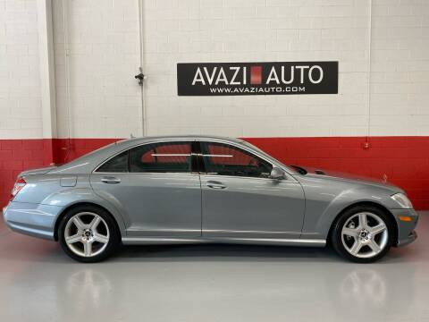 2007 Mercedes-Benz S-Class for sale at AVAZI AUTO GROUP LLC in Gaithersburg MD