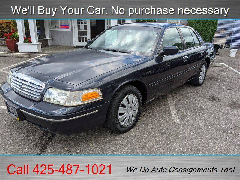 2001 Ford Crown Victoria for sale in Woodinville, WA