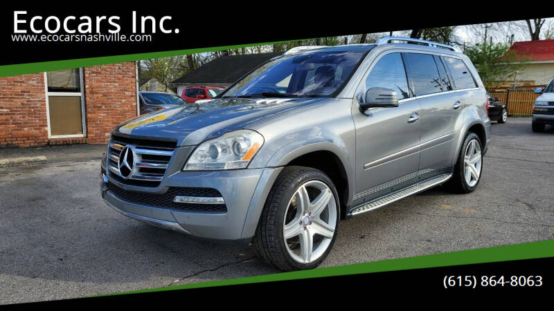 2011 Mercedes-Benz GL-Class for sale at Ecocars Inc. in Nashville TN