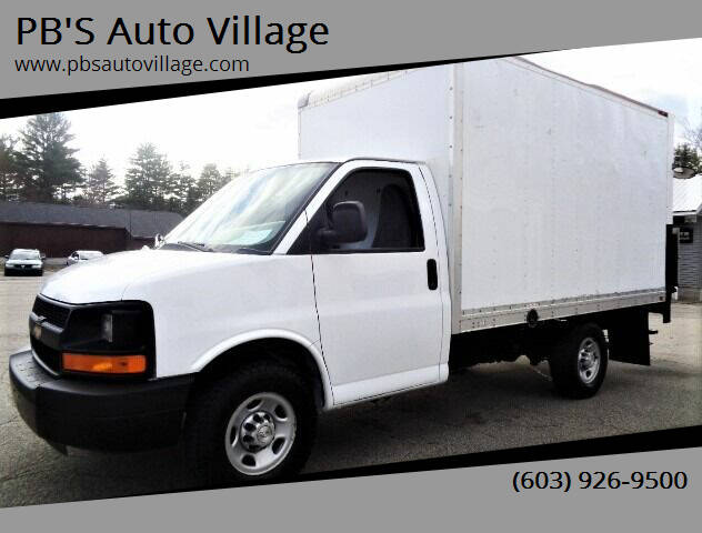 2016 Chevrolet Express Cutaway for sale at PB'S Auto Village in Hampton Falls NH
