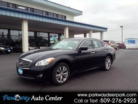 2012 Infiniti M37 for sale at PARKWAY AUTO CENTER AND RV in Deer Park WA