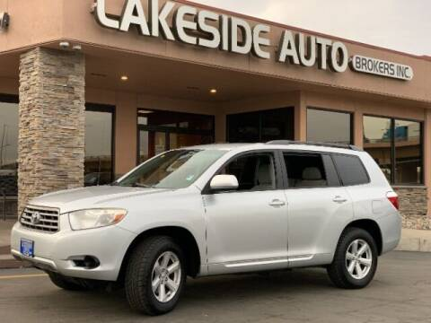 2010 Toyota Highlander for sale at Lakeside Auto Brokers Inc. in Colorado Springs CO
