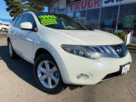 2009 Nissan Murano for sale at Xtreme Truck Sales in Woodburn OR