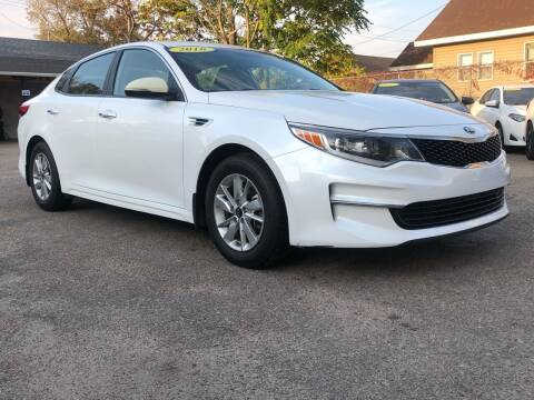 2016 Kia Optima for sale at El Tucanazo Auto Sales in Grand Island NE
