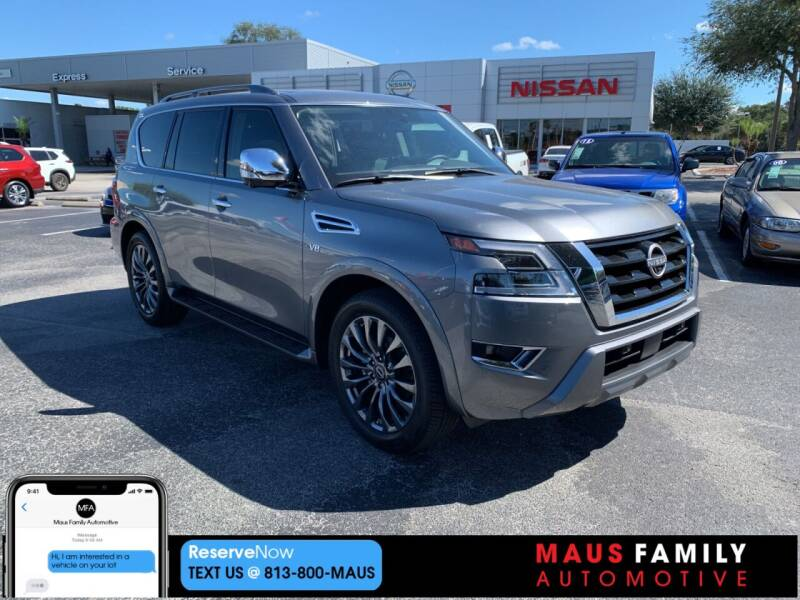 2021 Nissan Armada for sale in Tampa, FL