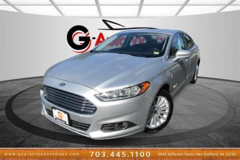 2015 Ford Fusion Energi for sale at Guarantee Automaxx in Stafford VA