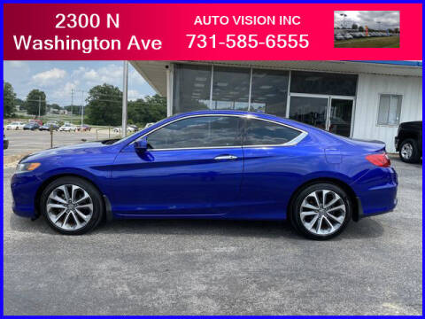 2013 Honda Accord for sale at Auto Vision Inc. in Brownsville TN
