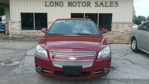 2008 Chevrolet Malibu for sale at Long Motor Sales in Tecumseh MI