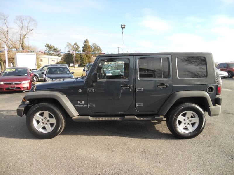 2008 Jeep Wrangler Unlimited for sale at All Cars and Trucks in Buena NJ