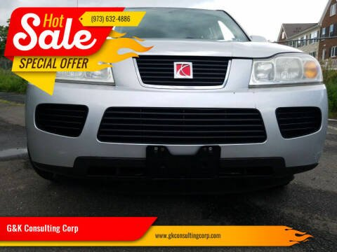 2006 Saturn Vue for sale at G&K Consulting Corp in Fair Lawn NJ