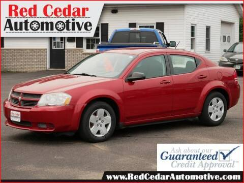 2008 Dodge Avenger for sale at Red Cedar Automotive in Menomonie WI