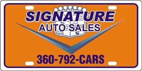 2002 Chevrolet Suburban for sale at Signature Auto Sales in Bremerton WA