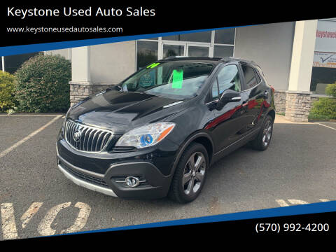 2014 Buick Encore for sale at Keystone Used Auto Sales in Brodheadsville PA