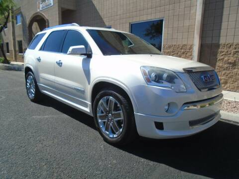 2012 GMC Acadia for sale at COPPER STATE MOTORSPORTS in Phoenix AZ