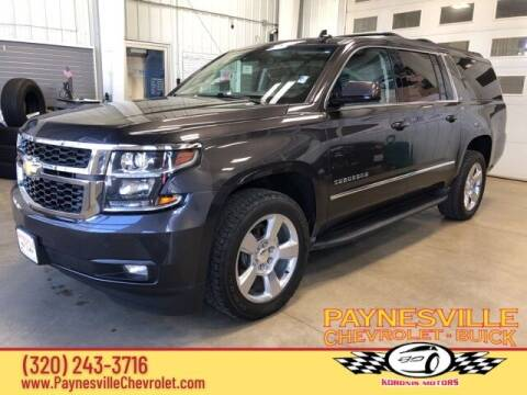 2017 Chevrolet Suburban for sale at Paynesville Chevrolet - Buick in Paynesville MN