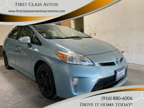 2012 Toyota Prius for sale at Car Source Center in West Sacramento CA