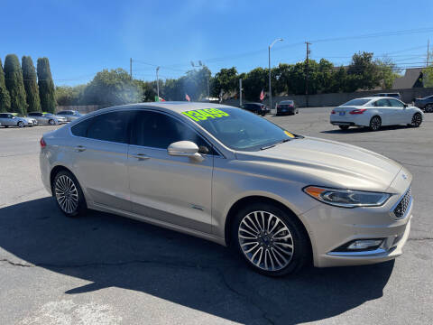 2017 Ford Fusion Energi for sale at Blue Diamond Auto Sales in Ceres CA
