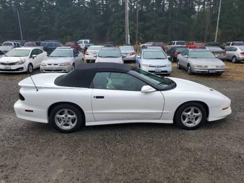 1995 Pontiac Firebird for sale at WILSON MOTORS in Spanaway WA