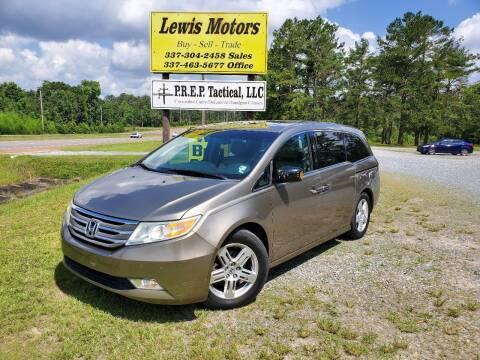 2011 Honda Odyssey for sale at Lewis Motors LLC in Deridder LA