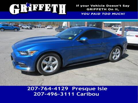 2017 Ford Mustang for sale at Griffeth Mitsubishi - Pre-owned in Caribou ME