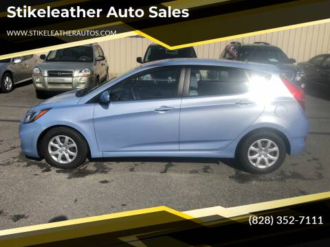 2014 Hyundai Accent for sale at Stikeleather Auto Sales in Taylorsville NC