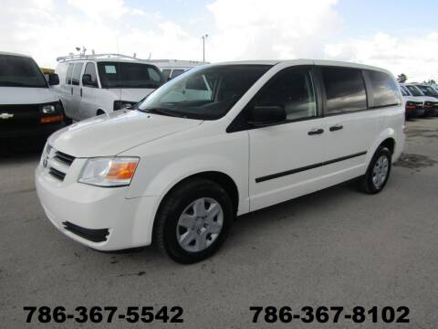 2010 Dodge Grand Caravan for sale at AML AUTO SALES - Passenger Vans in Opa-Locka FL