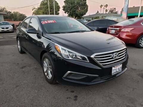 2017 Hyundai Sonata for sale at LR AUTO INC in Santa Ana CA