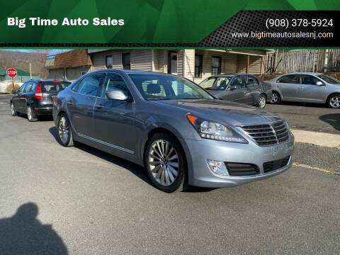 2016 Hyundai Equus for sale at Big Time Auto Sales in Vauxhall NJ