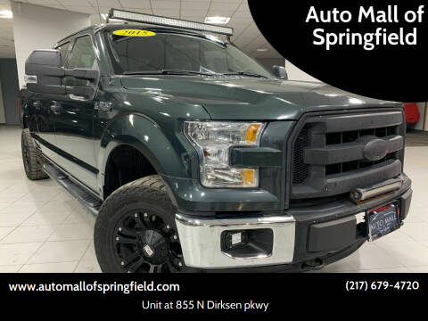 2015 Ford F-150 for sale at Auto Mall of Springfield north in Springfield IL