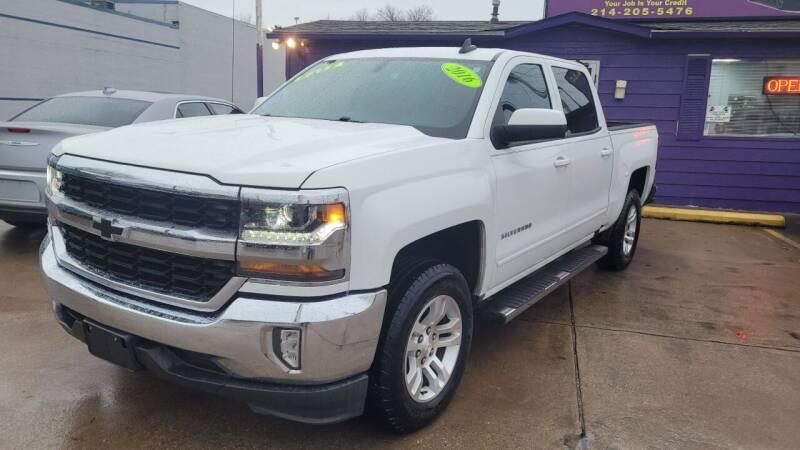 2016 Chevrolet Silverado 1500 for sale at Quality Auto Sales LLC in Garland TX