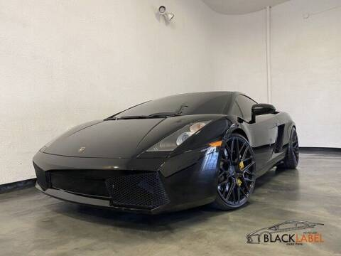 2006 Lamborghini Gallardo for sale at BLACK LABEL AUTO FIRM in Riverside CA
