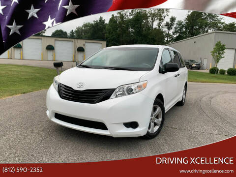 2011 Toyota Sienna for sale at Driving Xcellence in Jeffersonville IN
