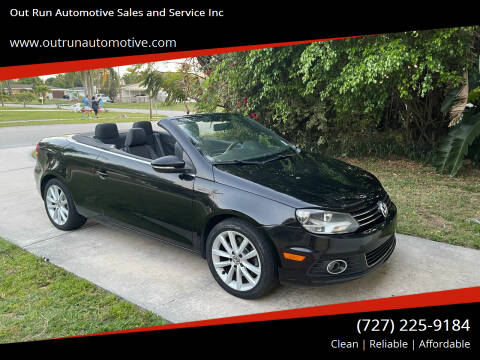 2012 Volkswagen Eos for sale at Out Run Automotive Sales and Service Inc in Tampa FL
