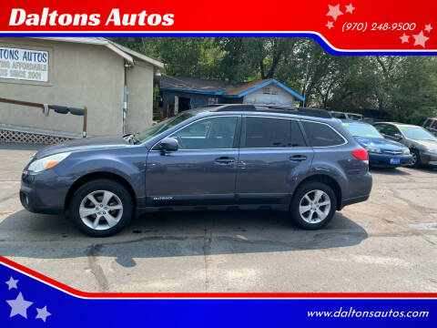2014 Subaru Outback for sale at Daltons Autos in Grand Junction CO