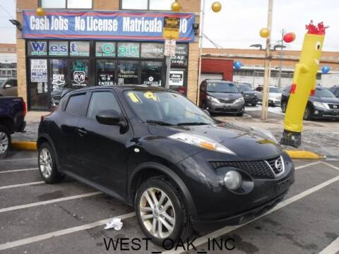 2014 Nissan JUKE for sale at West Oak in Chicago IL