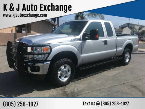 2012 Ford F-250 Super Duty for sale at K & J Auto Exchange in Santa Paula CA