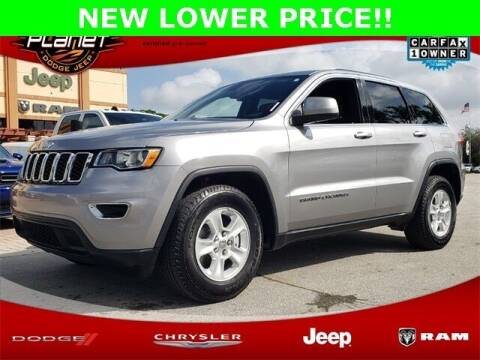 2017 Jeep Grand Cherokee for sale at PLANET DODGE CHRYSLER JEEP in Miami FL