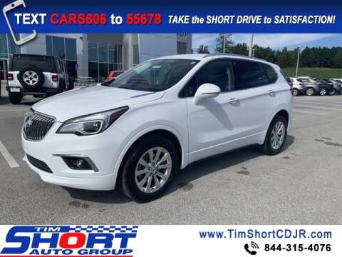 2018 Buick Envision for sale at Tim Short Chrysler in Morehead KY