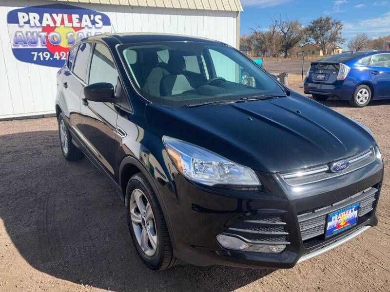 2016 Ford Escape for sale at Praylea's Auto Sales in Peyton CO